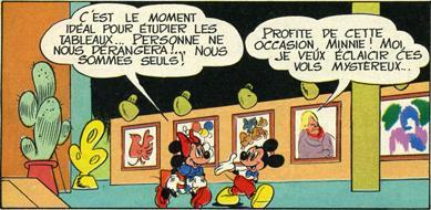 Walt Disney Productions de B Lavier : l'art réalité dépasse la fiction