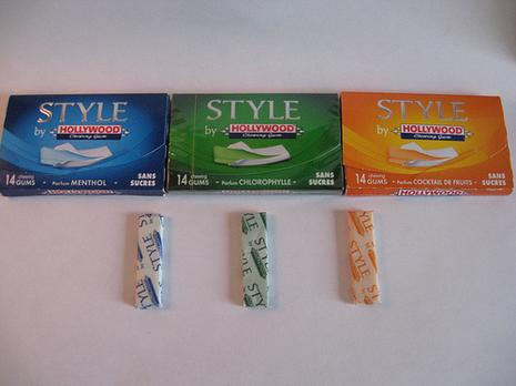 Style de Hollywood chewing-gum - Paperblog
