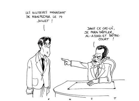 Entre Sarkozy et l'armée, c'est l'état de Val de Grâce