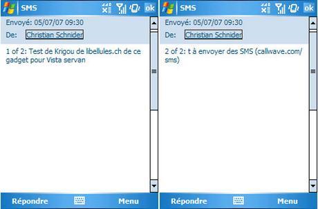 CallWave SMS - envoyez des SMS gratuits depuis votre PC