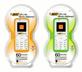 Orange et Bic lancent le BIC Phone