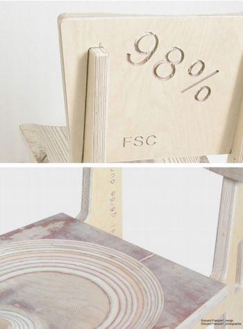 Le design 98 voir for Chaise 98 edouard francois