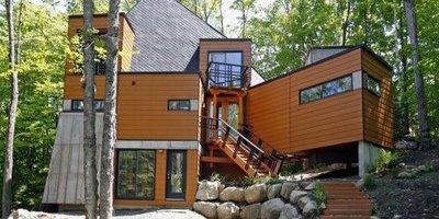 Une maison construite avec des conteneurs paperblog for Conteneur maritime maison