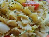 Salade pâtes curry