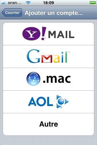 Comment configurer un compte e-mail sur un iPhone