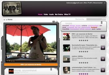 wide-1 Créez votre chaîne de podcast audio et vidéo avec Wide.tv