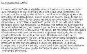 Constitution: Le secret de polichinel socialiste (Gilbert Collard)