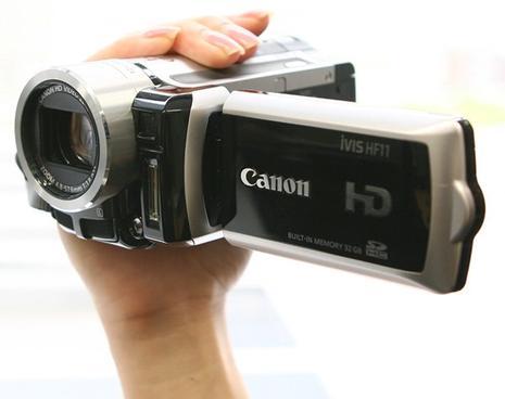 Camescopes Canon HF11 et HG21