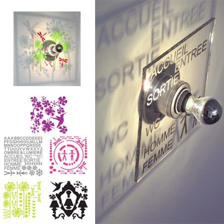 Lampe Design Patch Light - 89 euros chez Atylia