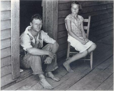 Floyd and Lucille Burroughs, Hale County, Alabama, 1936
