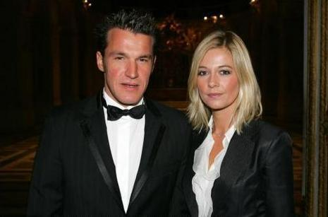 Benjamin Castaldi et Flavie Flament