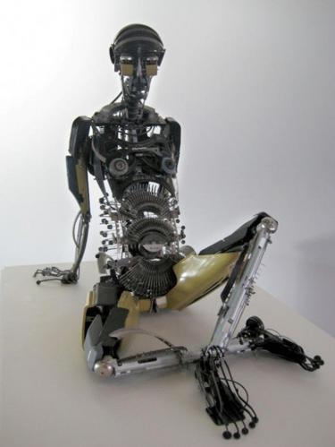 Machine à écrire androïde
