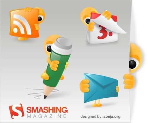 Icones: Smashy The Alien icon set