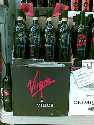 Virgin Vines Wine
