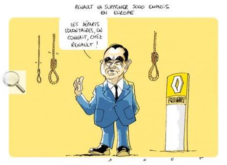 Renault va licencier avec profits et fracas 5000 personnes