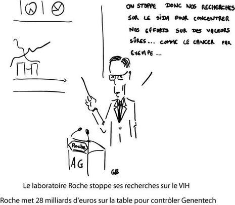 Le laboratoire Roche arrête ses recherches sur le VIH