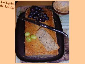 Cake moelleux a la panna cota ratée