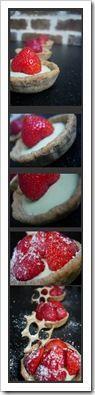 diaporama tartelettes aux fraises