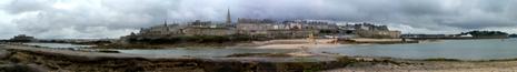Panorama de Saint Malo