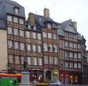 Vous voulez du Colombage ? Bienvenue à Rennes !