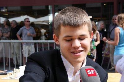 Que va inventer aujourd'hui le norvégien Magnus Carlsen ? - photo site officiel