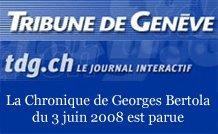 La chronique échecs de Georges Bertola