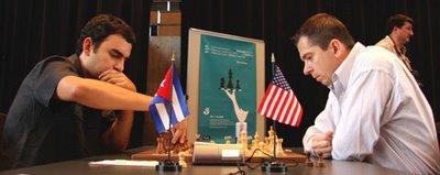 le cubain Dominiguez contre l'américain Onischuk