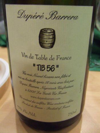 Vendredis du Vin # 16: Vins de Table
