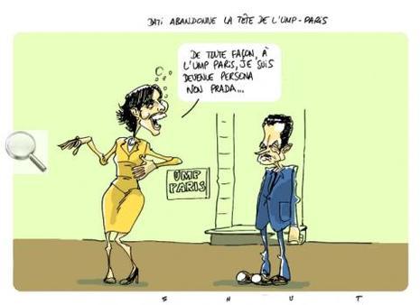 Rachida Dati ne prendra pas la tête de l'UMP à Paris