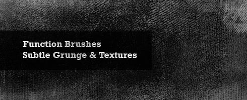 Set de 33 brushes style grunge