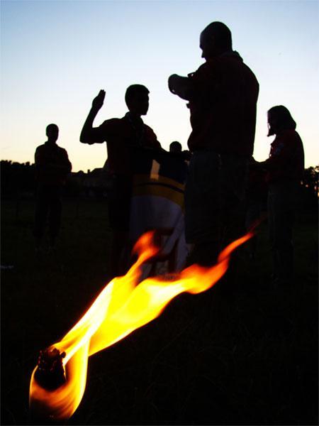 Engagement pionnier - Camp Scouts et Guides de France - Caudry 2008