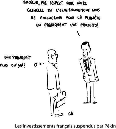 Les investissements français suspendus par Pékin