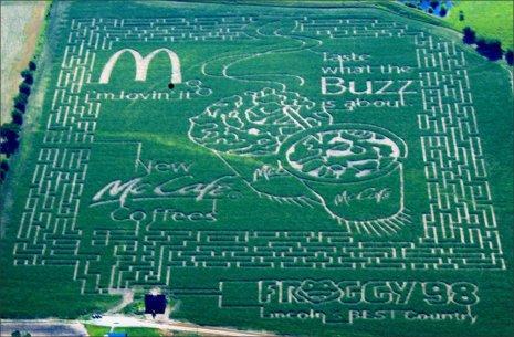 Mac Do crop circles
