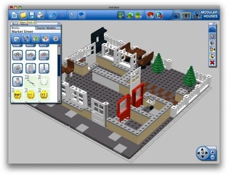 Logo Digital Designer, un fabuleux jeu de Lego virtuel