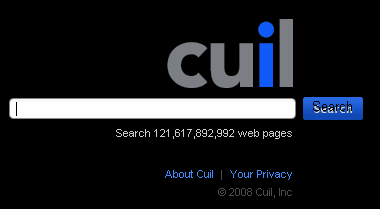 Home Page Cuil