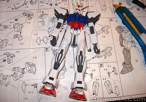 Montage du Aile Strike Gundam - Partie 3