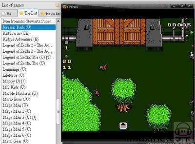 FireNES L'émulateur NES sur Firefox