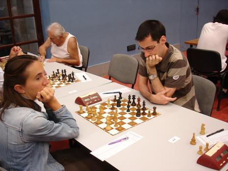 3ème ronde, Cybèle Husson (2017) - Ofo (1796) : 0.5-0.5