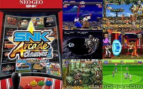 PSP - SNK Arcade Classics Volume 1