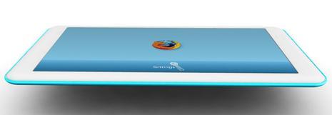 firefox_tablet2 Un Tablette Tactile pour tous les budgets