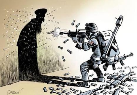 La guerre contre le terrorisme est inutile.