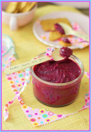 Cassis curd épicé (sans beurre)