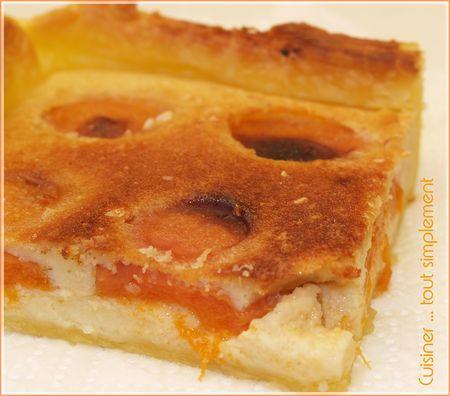 une tarte toute simple tarte amandes abricots paperblog. Black Bedroom Furniture Sets. Home Design Ideas