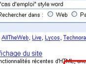 Google s'emmêle mots