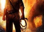 "Première affiche ""Indiana Jones Royaume Crâne Cristal"""