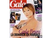 Carla Bruni fiancée