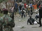 Kenya quelque morts dans violences interethniques émeutes post-électorales