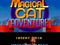 Capture d'écran de Magical Cat Adventure