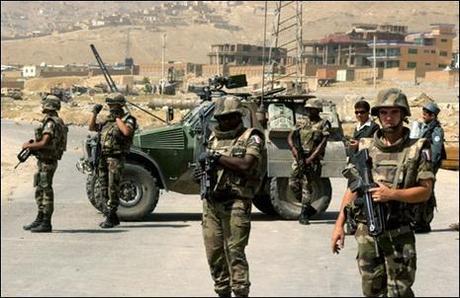 Sarkozy de Tbilissi à Kaboul