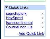 quick-links Tirez le maximum de votre compte GMail